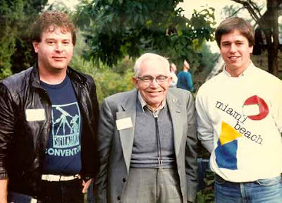 Dale Bryant, Clyde Tombaugh and Michael Petrasko  at AstroAssembly - 1987