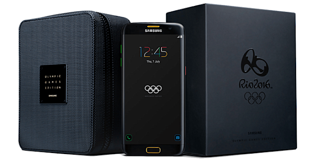 Samsung Galaxy S7 edge Olympic Games Edition available to pre-order in Germany