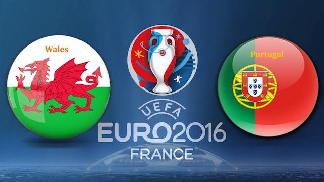 Live score hasil Portugal vs Wales Piala Euro 2016