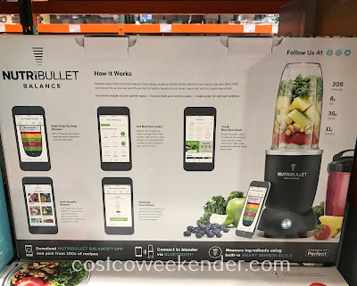 Costco 4900096 - NutriBullet Balance Smart Blender: great for any kitchen