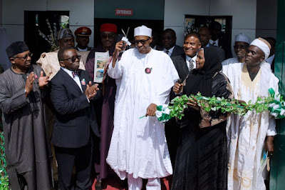 Our vision is to revitalise 10,000 Primary Health Care across Nigeria-Muhammadu Buhari.