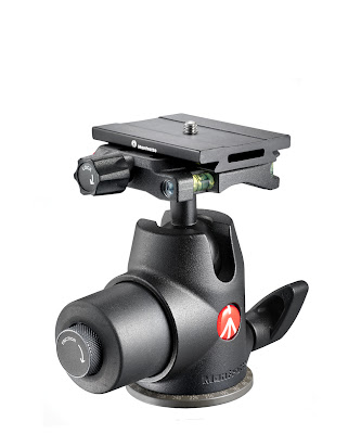 Manfrotto Hydrostatic Ball Head w/ MSQ6 Top Lock QR