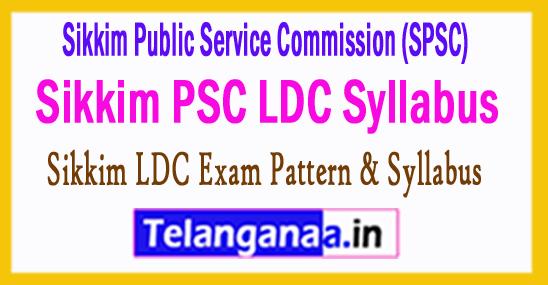 Sikkim PSC LDC Syllabus 2017 Admit Card Exam Date Cutoff