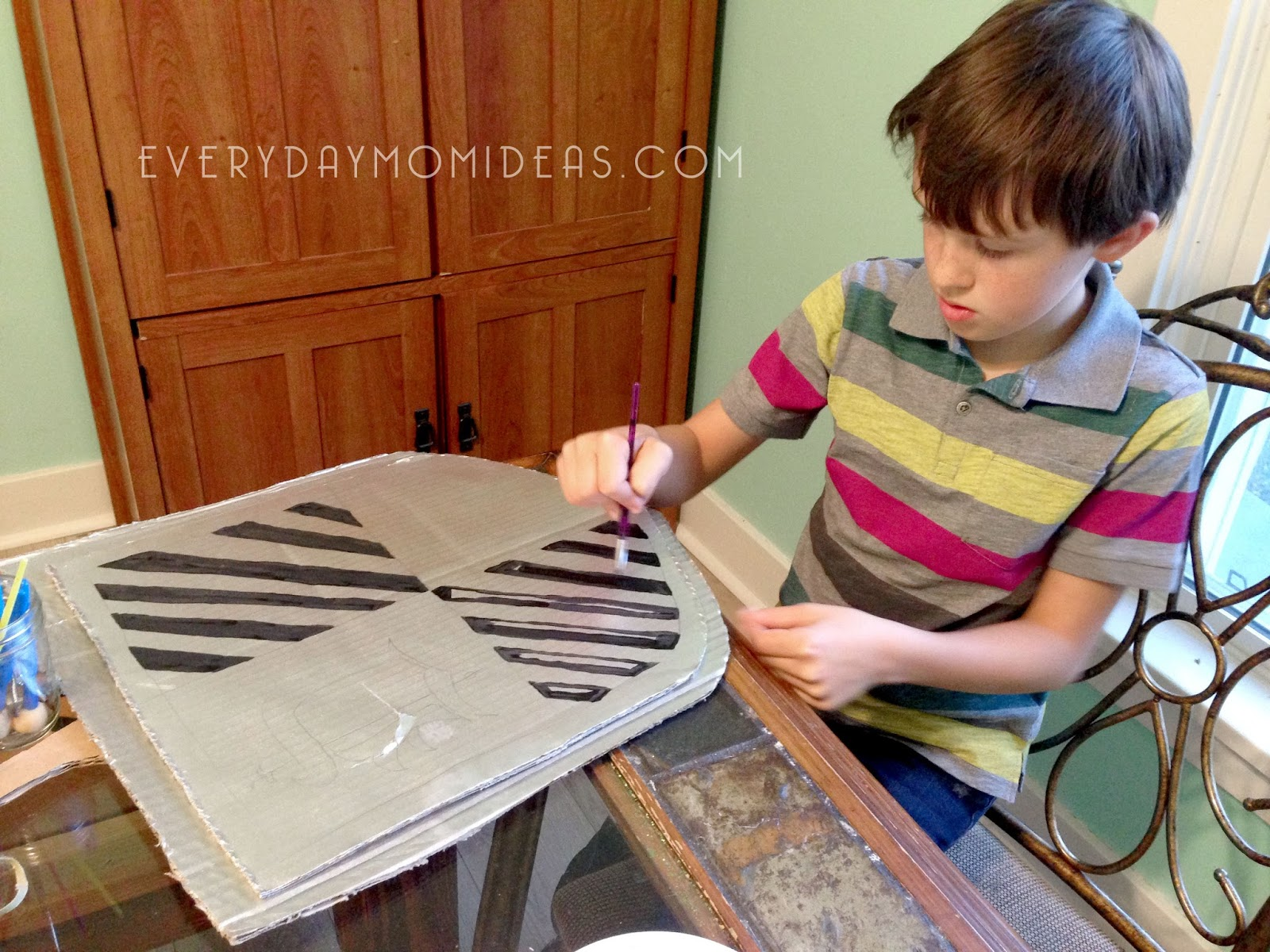 diy cardboard knight helmet template ash cycles