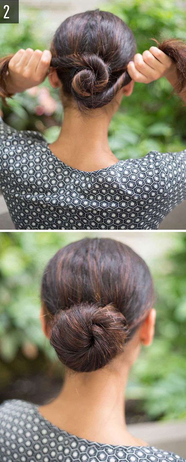 4 Quick Hairstyles tutorials