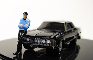 hwc Hot Wheels Star Trek '64 Buick Riviera Spock