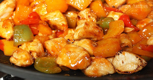 Thai Chicken And Pineapple Stir Fry Recipe