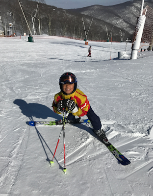 Wintergreen Resort, January 2017, ski the east, ski virginia, kids ski, ski the south, snow, alpine ski