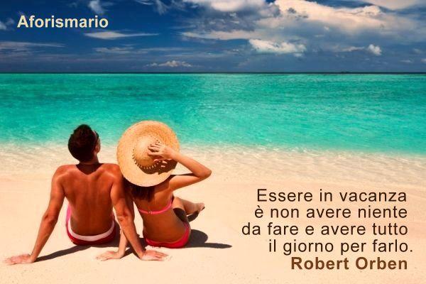 Famoso Aforismario®: Vacanze - Aforismi, frasi e battute divertenti DV37