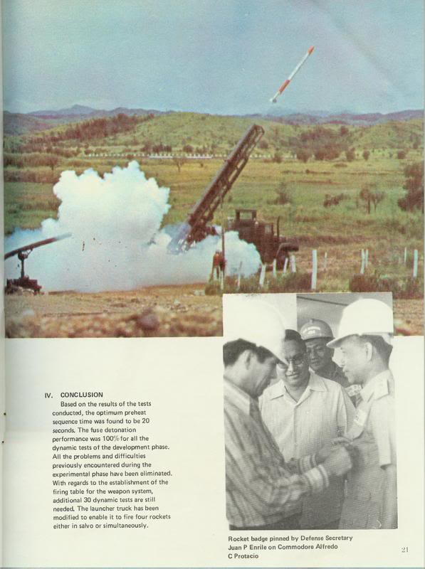 Science in the Philippines: Philippine-Made Rockets