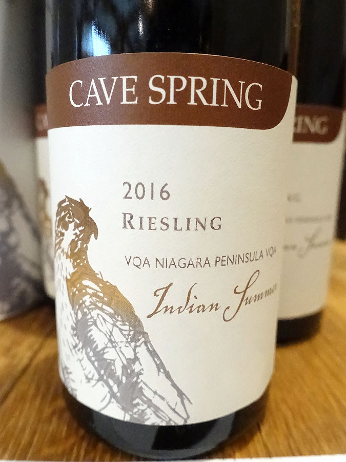 Cave Spring Indian Summer Riesling 2016 (90 pts)