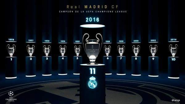 Y llegó la Undécima.. Crónica de la final de Champions 2016. By Óscar.