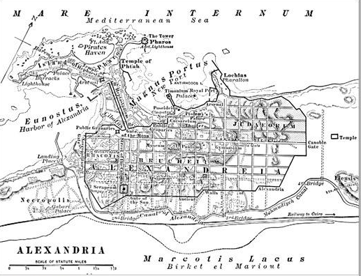 Forgotten revolt against Rome by Alexandria's Jews