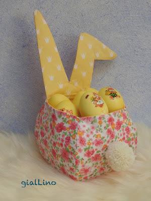 Osterfest: Eierkörbchen