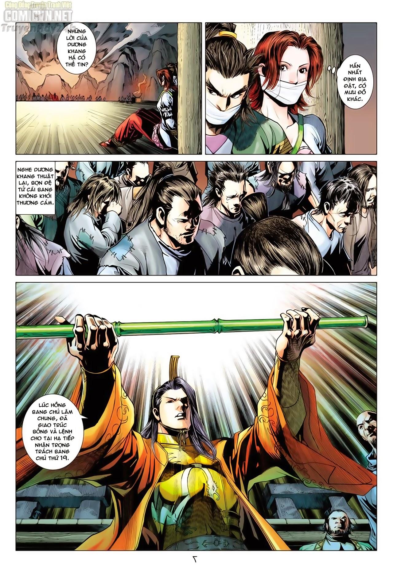 Anh Hùng Xạ Điêu anh hùng xạ đêu chap 66: nhạc châu đại hội trang 7