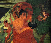 buddhistischer Weltenbaum - Baum des Lebens