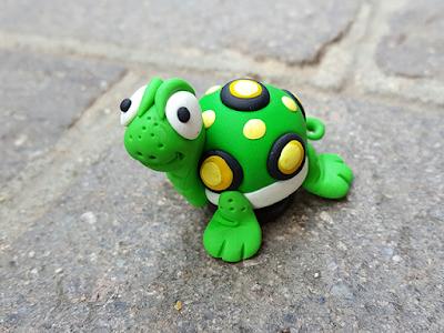 Calamita Fimo tartaruga