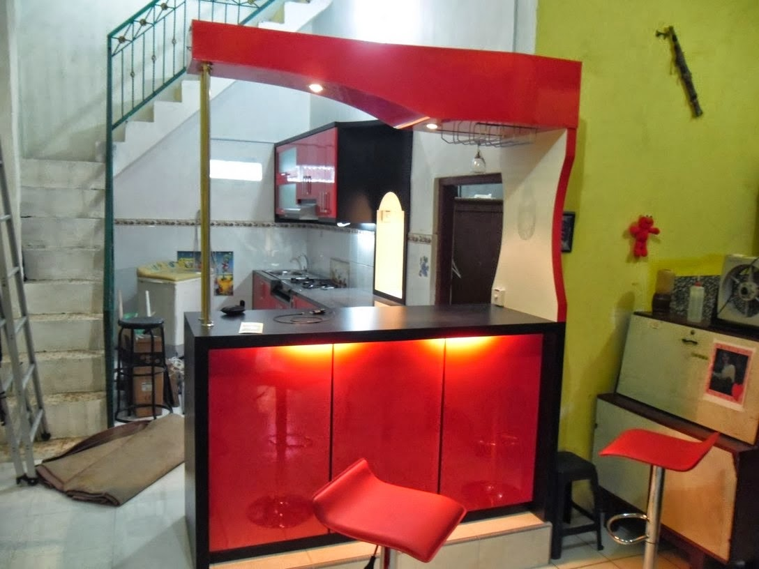 Kitchen Set Minibar Minimalis Kitchen Set Murah Modern Minimalis
