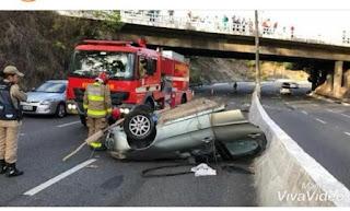 Vítima de acidente que partiu carro ao meio é identificada; vídeos mostram detalhes