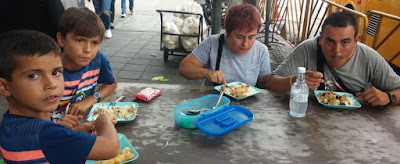 Nuestro primer desayuno tailandés.