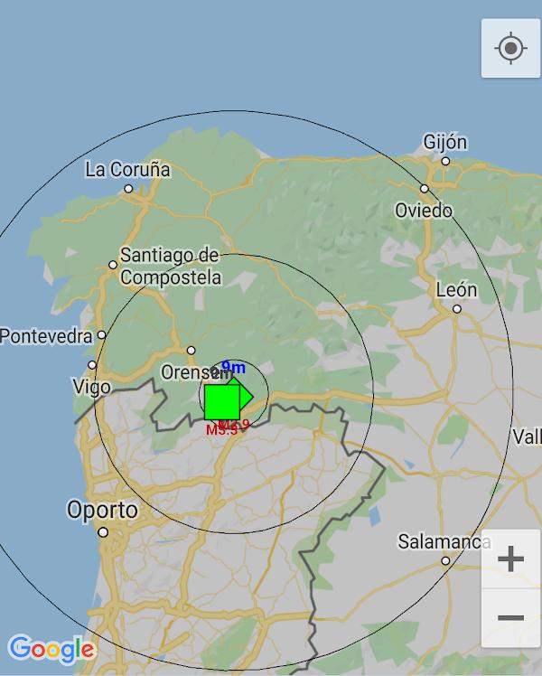 Se reporta sismo en España.