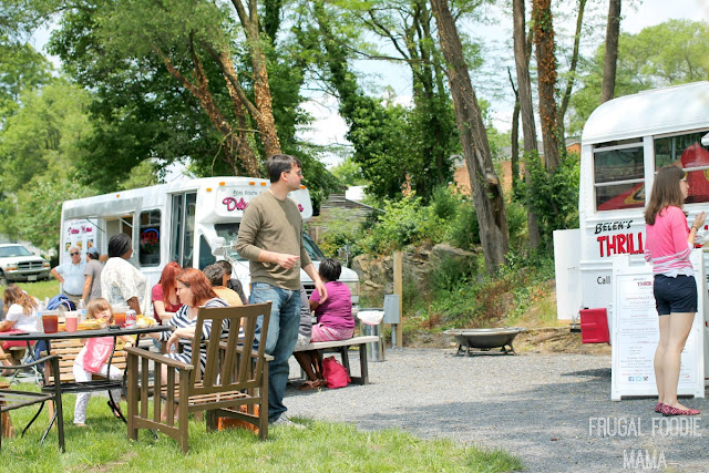 The Rock 'N Wolfe Food Truck Park is a pretty new addition to the local foods scene in Harrisonburg & a must-try for lunch or dinner. #BlueRidgeBucket #Trekarooing