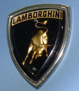 Lamborghini's raging bull logo