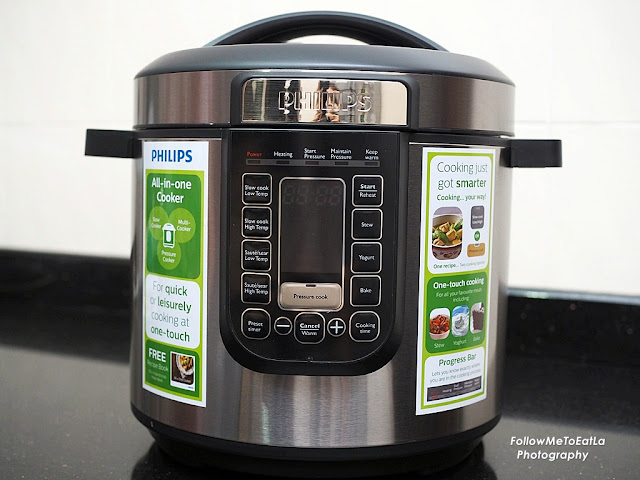 The New Generation PHILIPS All-In-One Pressure Cooker HD2137