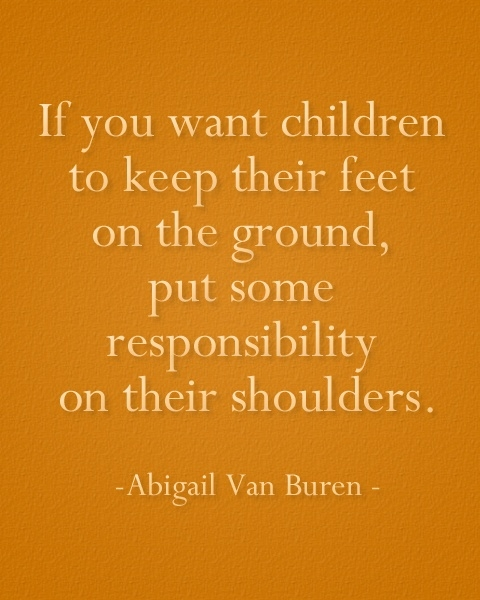 Cute mother responsibility quotes sayings poems for greeting cards