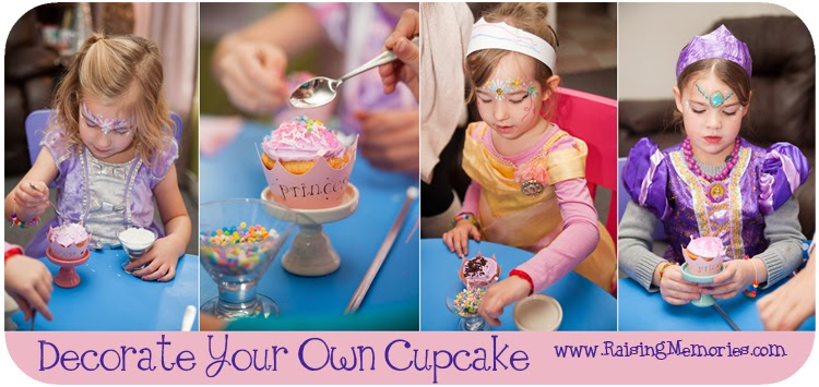 DIY Princess Party Treats by www.RaisingMemories.com