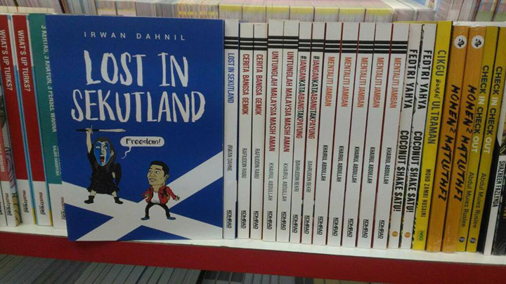 Buku lost in sekutland