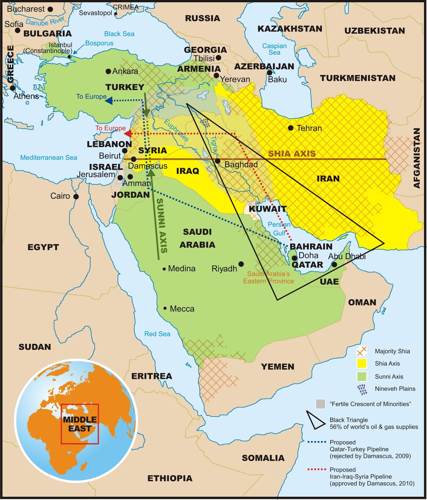 Religious Liberty Monitoring A Brief Guide To Middle Eastern Alliances