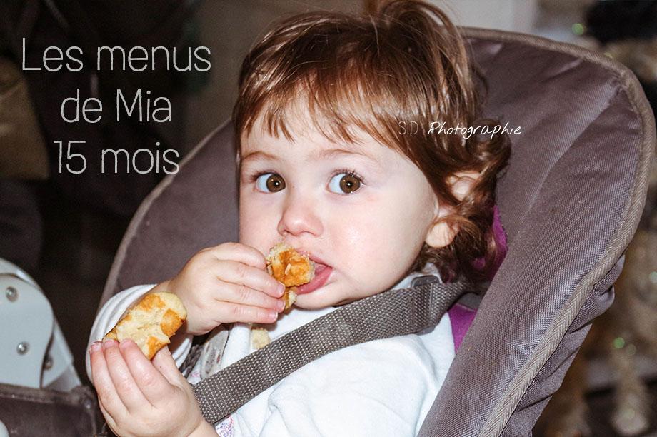 les menus de mia