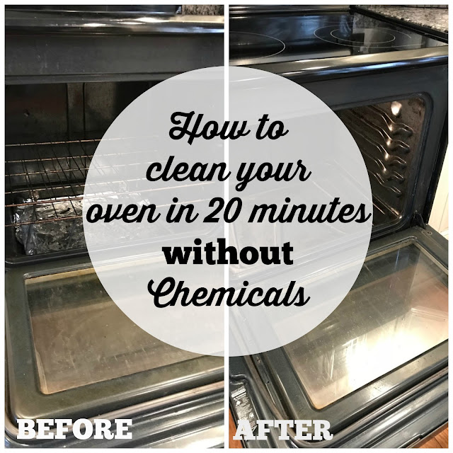 How To Clean Your Oven In 20 Minutes Without Chemicals