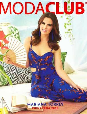Moda club catalogo primavera verano 2018 : ropa para damas