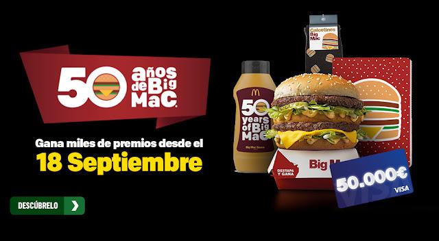 McDonalds 50 años Big Mac