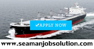 SEAMAN JOB INFO - Updated hiring seaman crew requirements handysize bulk carrier ship full crew Filipino compliment for deployment November - December 2018.