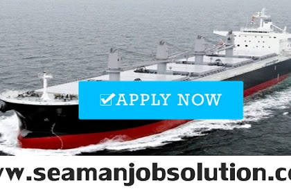 Able Seaman(5x), Fitter(2x), 3/E(2x) For Bulk Carrier Vessel (Philippines)
