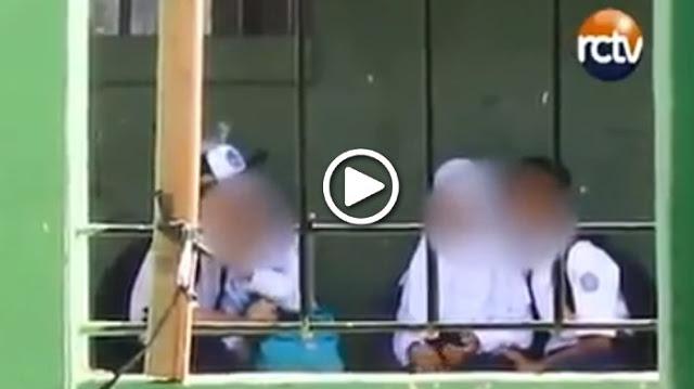 Video Pelajar Melakukan Perbuatan Yang Tidak Pantas Ini Menjadi Kekhawatiran Orang Tua, Lihat Videonya!