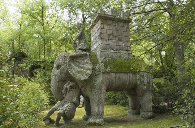 VIAJAR é alargar os nossos horizontes: O Jardim Italiano dos Monstros - Italy's Garden of Monsters