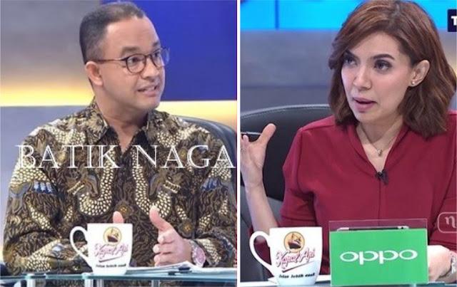 """Simbol """"Batik Naga"""" Anies di Mata Najwa"""