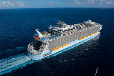 Allure of the Seas (pictured) and the Symphony of the Seas will utilize Royal Caribbean's New Cruise Terminal in Miami - Terminal A.