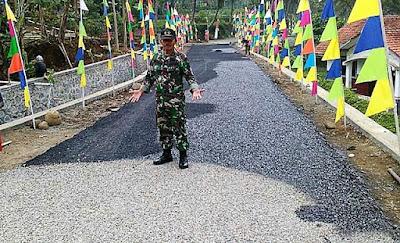 ''Ini Karya Besar TNI dan Warga di Rempoah ''