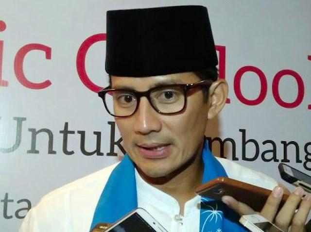 Sandiaga Sebut Harga Beras di Jakarta Akan Turun