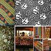 Motif Kain Batik Besurek Kerajinan Khas Bengkulu