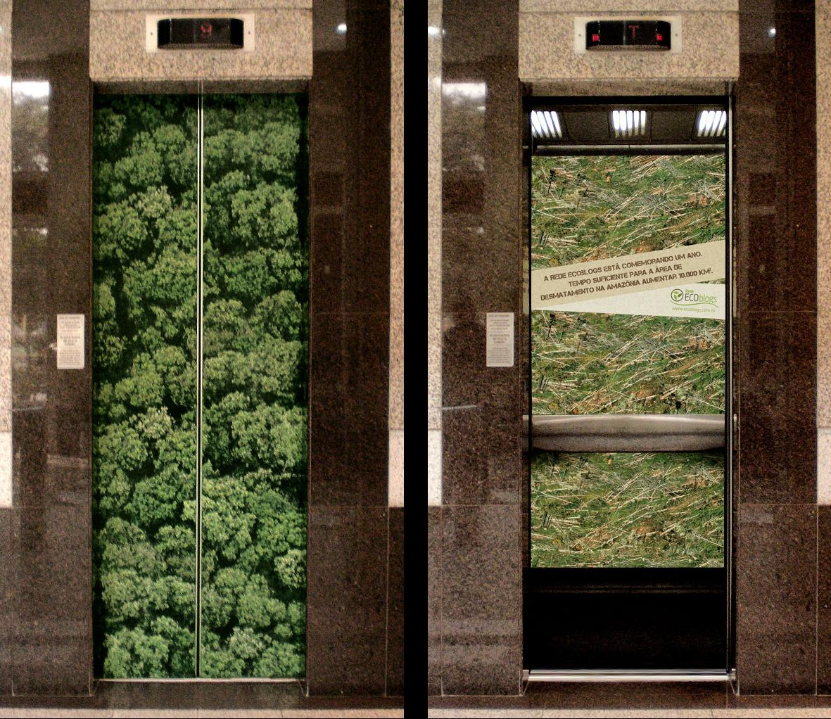 15 Creative And Cool Elevator Advertisements Part 3