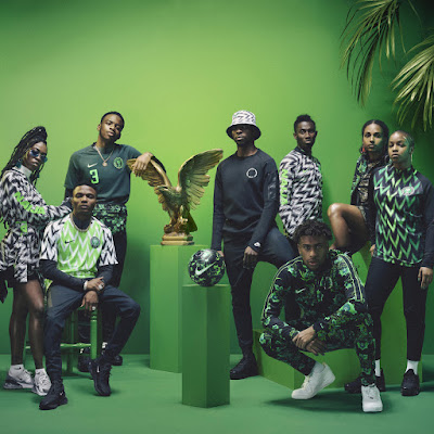 Nigeria World Cup 2018 football kit