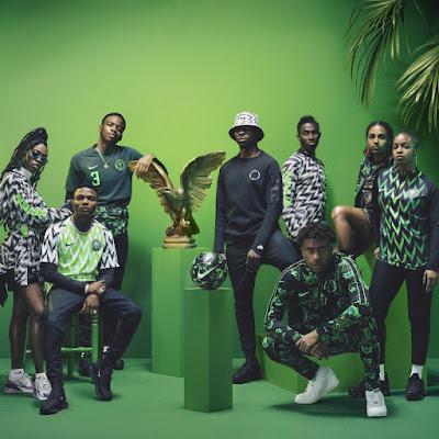 Nigeria World Cup 2018 football kit