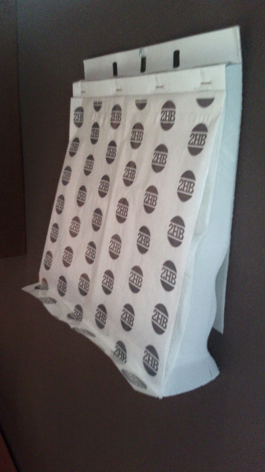 papel antigrasa en block para colgar en la pared