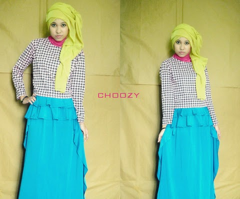 model baju hijab style